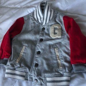 Baby Gap Varsity Jacket 18-24 mths